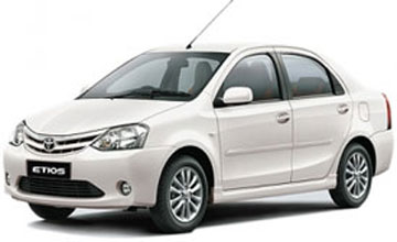 Etios Car Hire in Amritsar