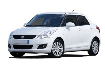 Swift Dzire Car Hire in Amritsar