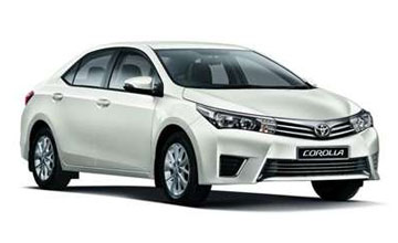 Corolla Car Hire in Amritsar
